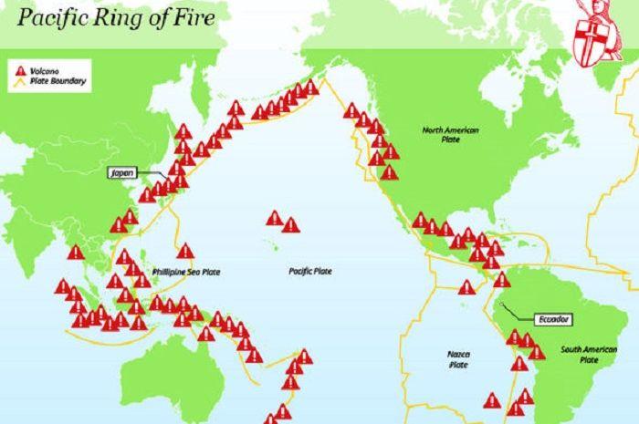 Peta Cincin Api