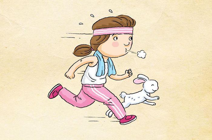 Ilustrasi olahraga