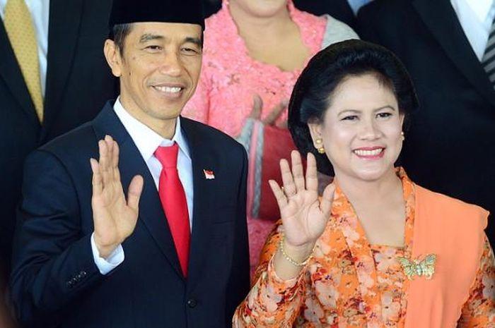 Joko Widodo dan Iriana Jokowi