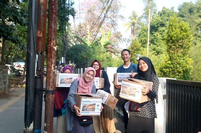 Mahasiswa galang dana secara cepat untuk korban bencana di Sulawesi Tengah