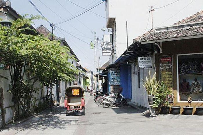 Suasana Kampung Batik Kauman