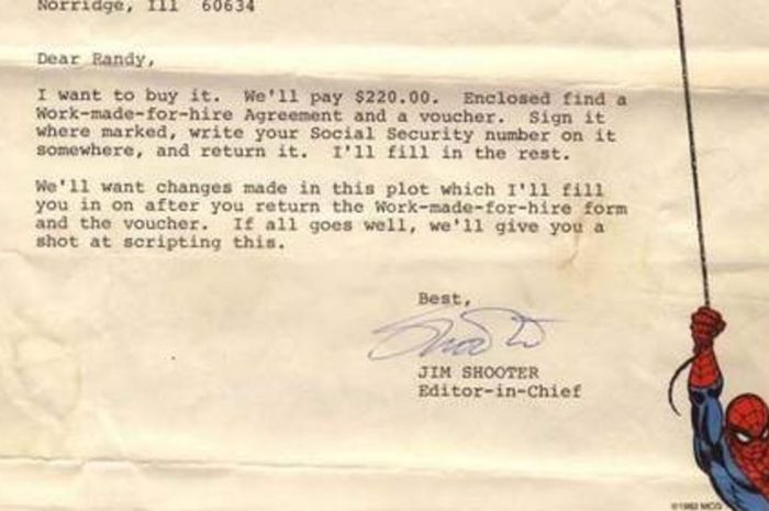 Surat dari Jim Shooter