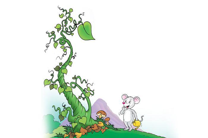 Mimo dan Pohon Kacang