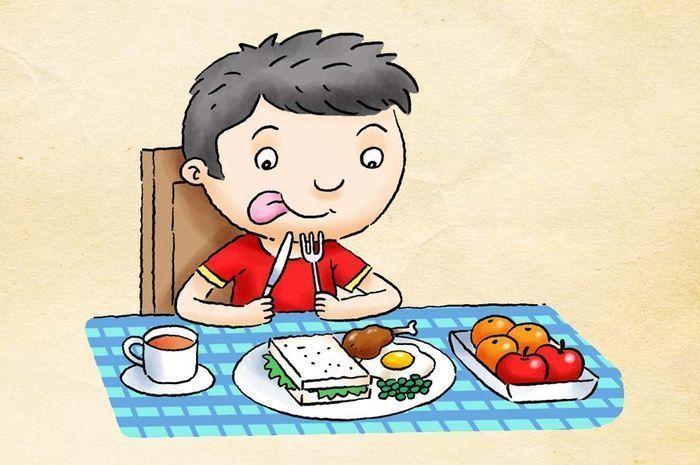Ilustrasi anak sehat