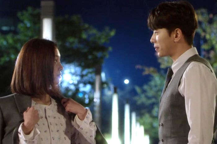 Salah satu adegan drama Korea : Witch at Court