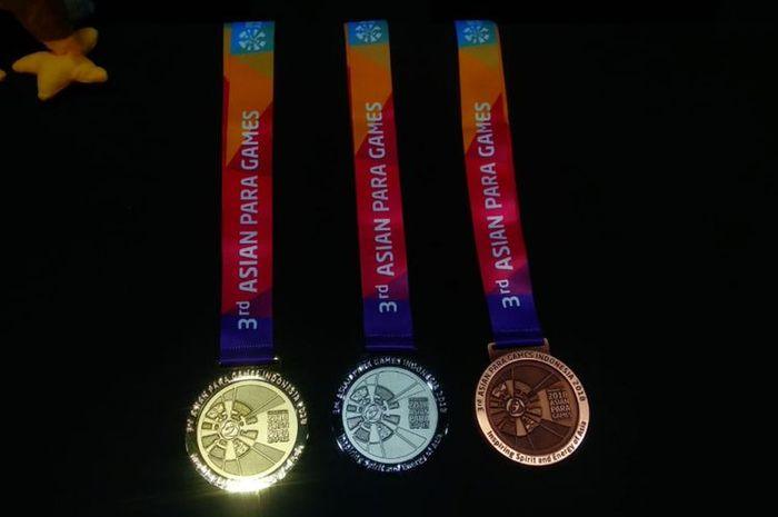 Medali Asian Para Games 2018 punya bunyi gemerincing