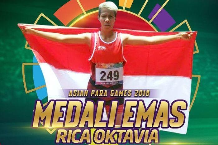 Perolehan medali emas ketiga