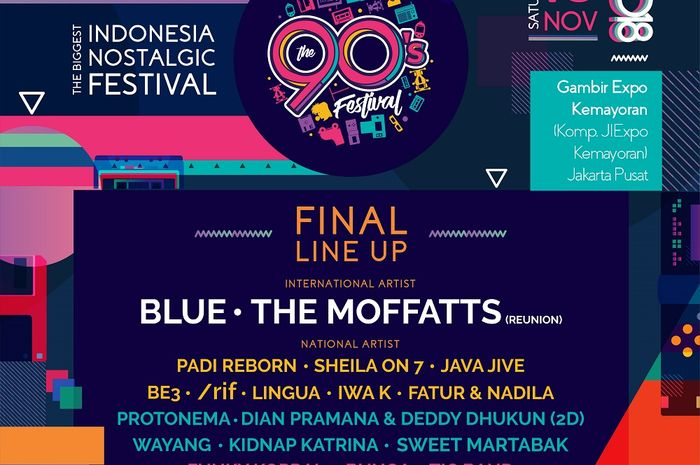 The 90s Festival 2018