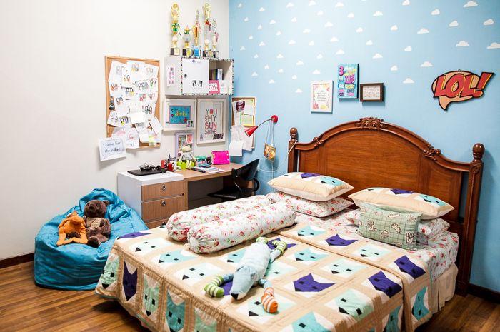 Desain Interior Kamar Tidur Ukuran 4x4 - Berbagai Ukuran