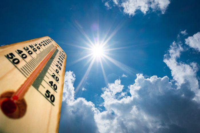 (Ilustasi) cuaca panas di kota
