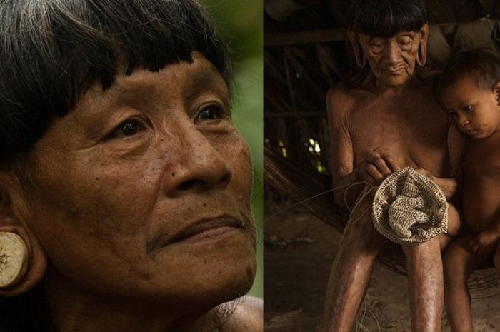 Suku Huaorani yang hidup di Hutan Amazon, Ekuador