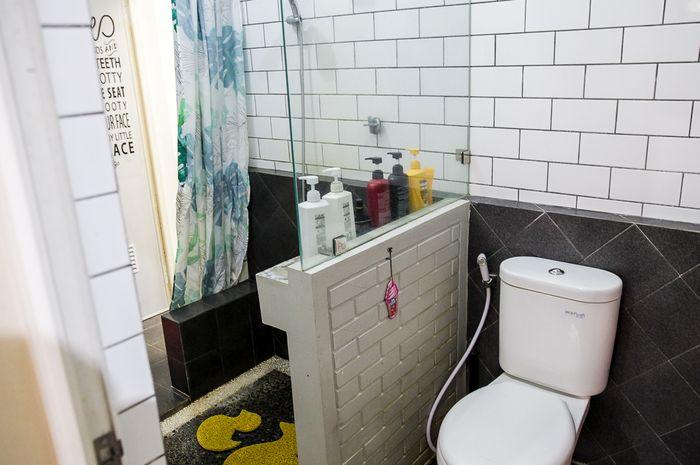 Inspirasi desain kamar mandi di lahan terbatas