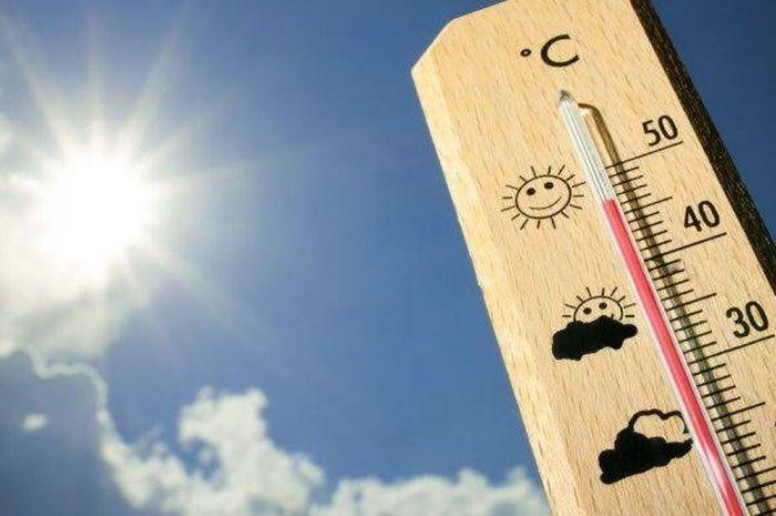 Iustrasi cuaca panas bulan Oktober