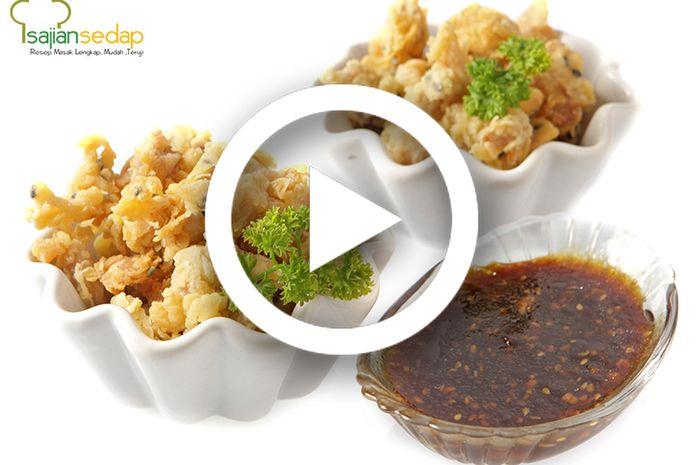 Ayam Popcorn Wijen