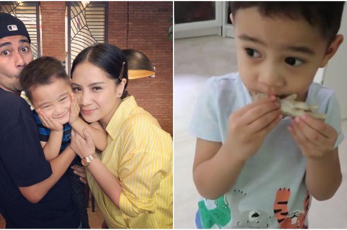 Ekspresi Rafathar makan ceker ayam jadi sorotan, ternyata sangat baik untuk anak