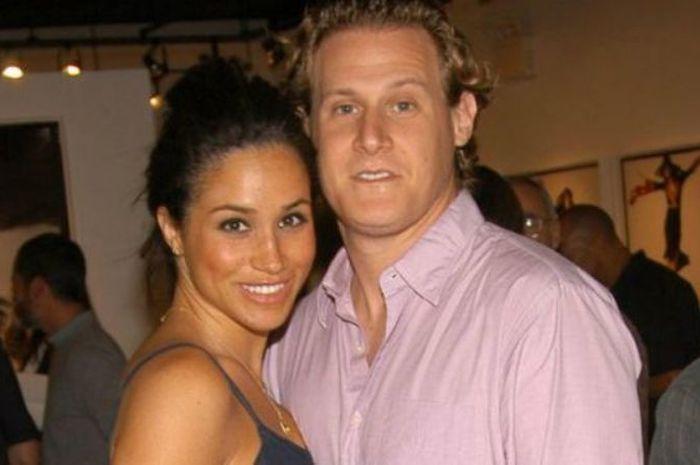 Meghan Markle dan Trevor Engelson sebelum bercerai