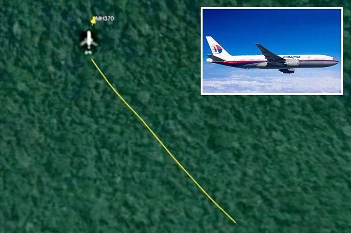 MH370 ditemukan di hutan belantara Kamboja