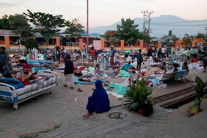 Biasanya kaum miskin pedesaan yang paling menderita ketika terjadi bencana (KOMPS.COM)