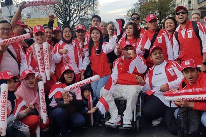 Para Atlet Indonesia yang bertanding di Youth Olympic Games 2018