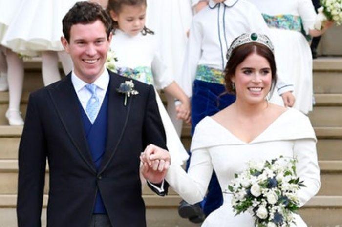 Pernikahan Putri Eugenie dan Jack Brooksbank.