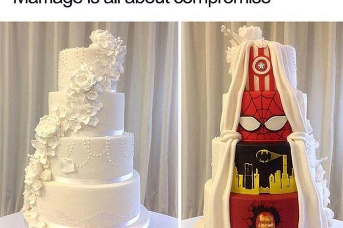 Meme tentang pernikahan