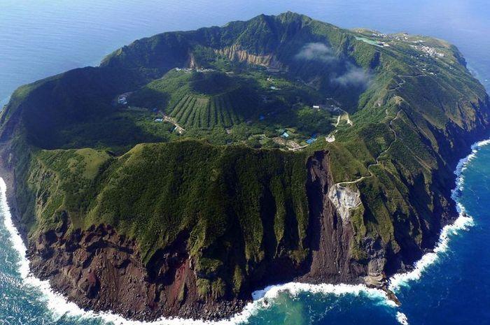 Aogashima, salah satu desa tersembunyi.