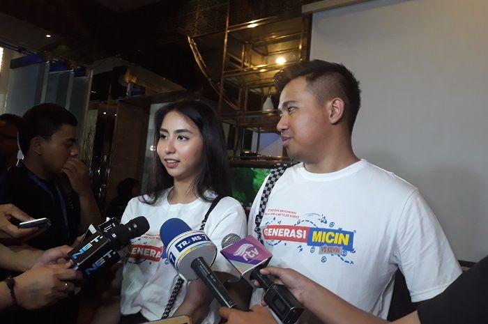 Joshua Suherman dan Clairine Clay saat ditemui Grid.ID di kawasan Epicentrum, Jakarta Selatan pada Junat (12/10/2018)