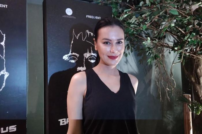 Sophia Latjuba saat ditemui Grid.ID di Teater Taman Ismail Marzuki, Menteng, Jakarta Pusat, Jumat (12/10/2018).