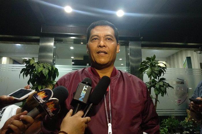 Kabid Humas Polda Metro Jaya Kombes Pol Argo Yuwono saat ditemui Grid.ID di Direktorat Reserse Kriminal Khusus Polda Metro Jaya, Jumat (12/10/2018) malam.