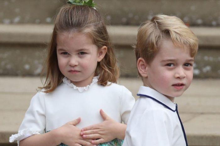 Putri Charlotte dan Pangeran George
