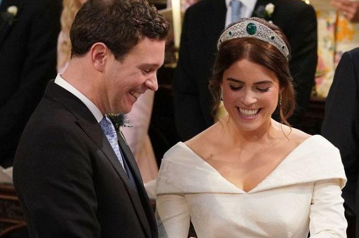 Momen Lucu Royal Wedding Putri Eugenie