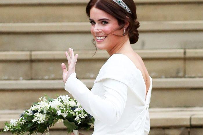 Kenapa Putri Eugenie Pilih Tak Gunakan Kerudung Upacara Pernikahannya?