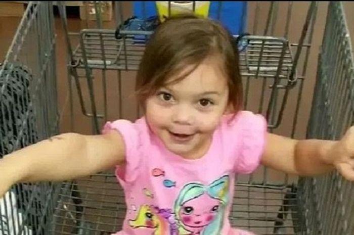 Gadis 4 tahun yang alami nasib tragis