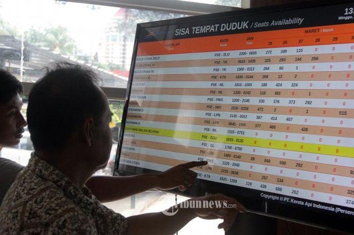 Kini pembatalan tiket kereta api dapat dilakukan secara online