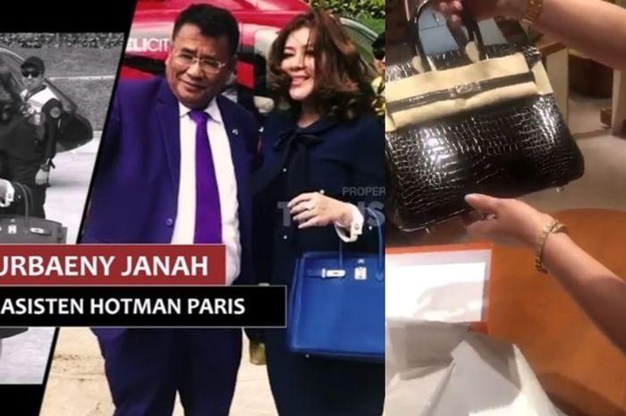 Dikenal tajir melintir, Hotman Paris belikan tas mewah senilai Rp 1,5 M untuk asisten pribadinya