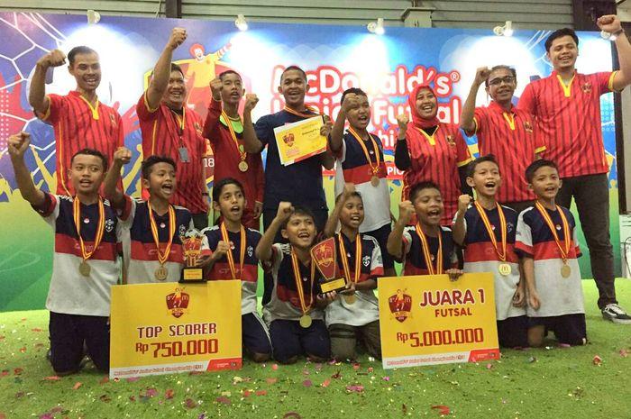 SDI Al-Amanah menjadi Juara 1 di MJFC 2018 wilayah Barat.