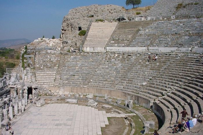 Great Theatre di Ephesus.