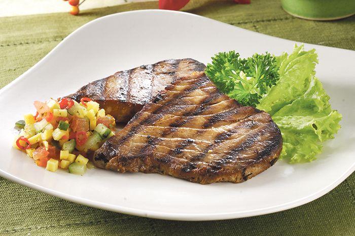 Resep Membuat Steak Tuna Salsa Mangga