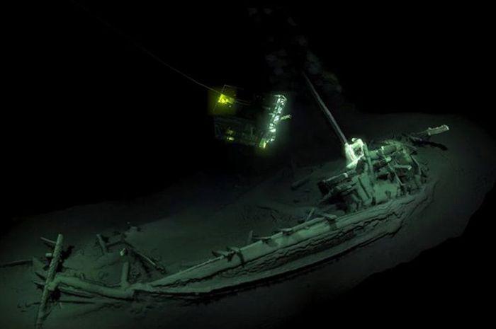Kapal Karam ini Masih Utuh Sejak Tenggelam 2400 tahun yang lalu