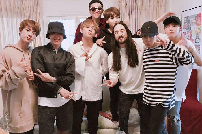 BTS dan Steve Aoki