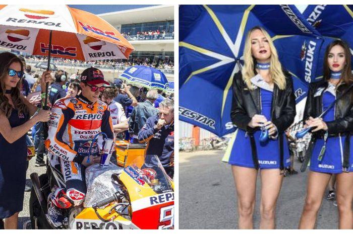 umbrella girl dulu adalah istri dari si pembalap