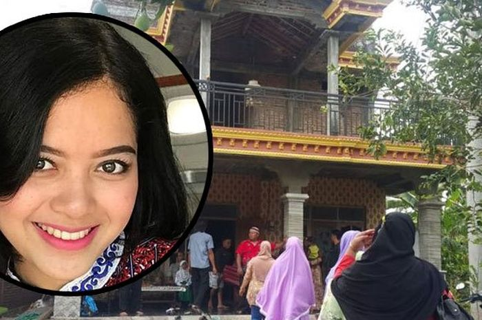 Suasana rumah duka Alfiani Hidayati Solikah, pramugari pesawat Lion Air JT-610 jurusan Jakarta-Pangk