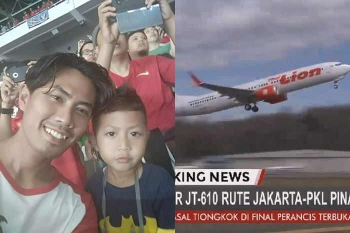 Korban pesawat Lion Air JT610, Xherdan Fachridzi dan ayahnya Wahyu Alldila
