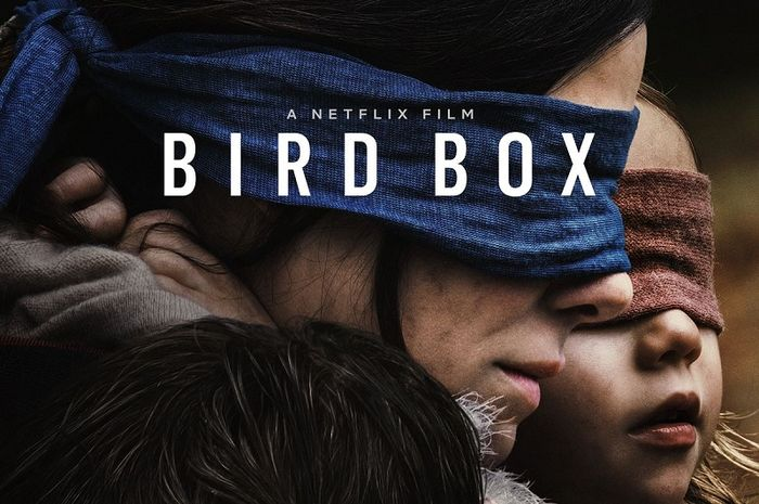 Poster film Netflix 'Bird Box'