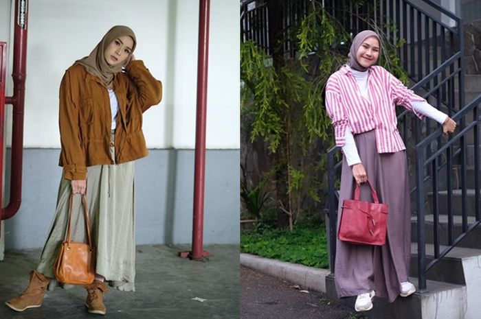Inspirasi Rok Hijab Simpel ala Zaskia Adya Mecca yang Wajib Ditiru Agar Makin Kekinian
