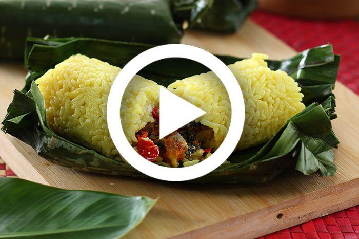 Resep membuat Nasi Bakar Kuning