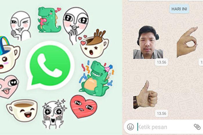 Cara Menyimpan Stiker Whatsapp Yang Dikirimkan Oleh Teman