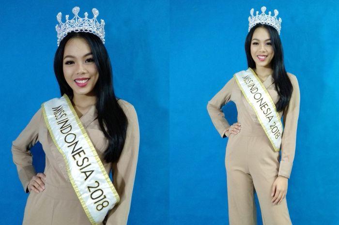 Miss Indonesia 2018 Alya Nurshabrina/Media Visit Kompas Gramedia Group, Kebun Jeruk, Jakarta/ (31/10)/