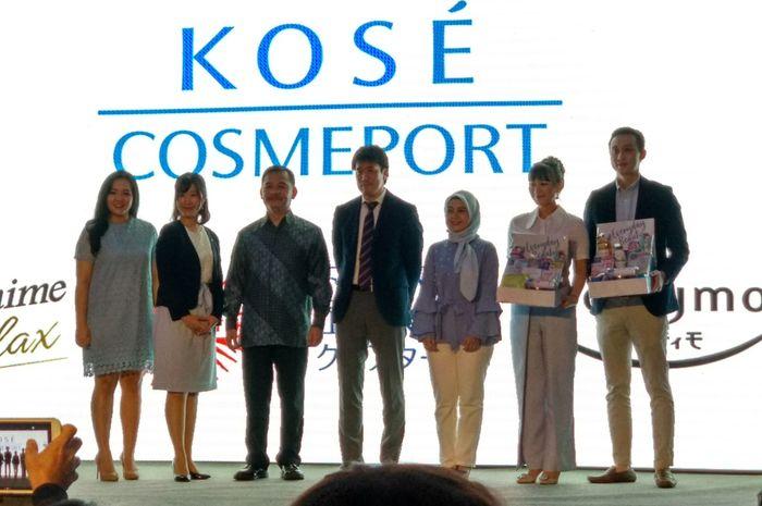 Skincare asal Jepang Kose Cosmeport kini telah hadir di Indonesia