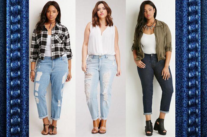 Berbagai pilihan model celana jeans yang cocok unutk pemilik paha besar